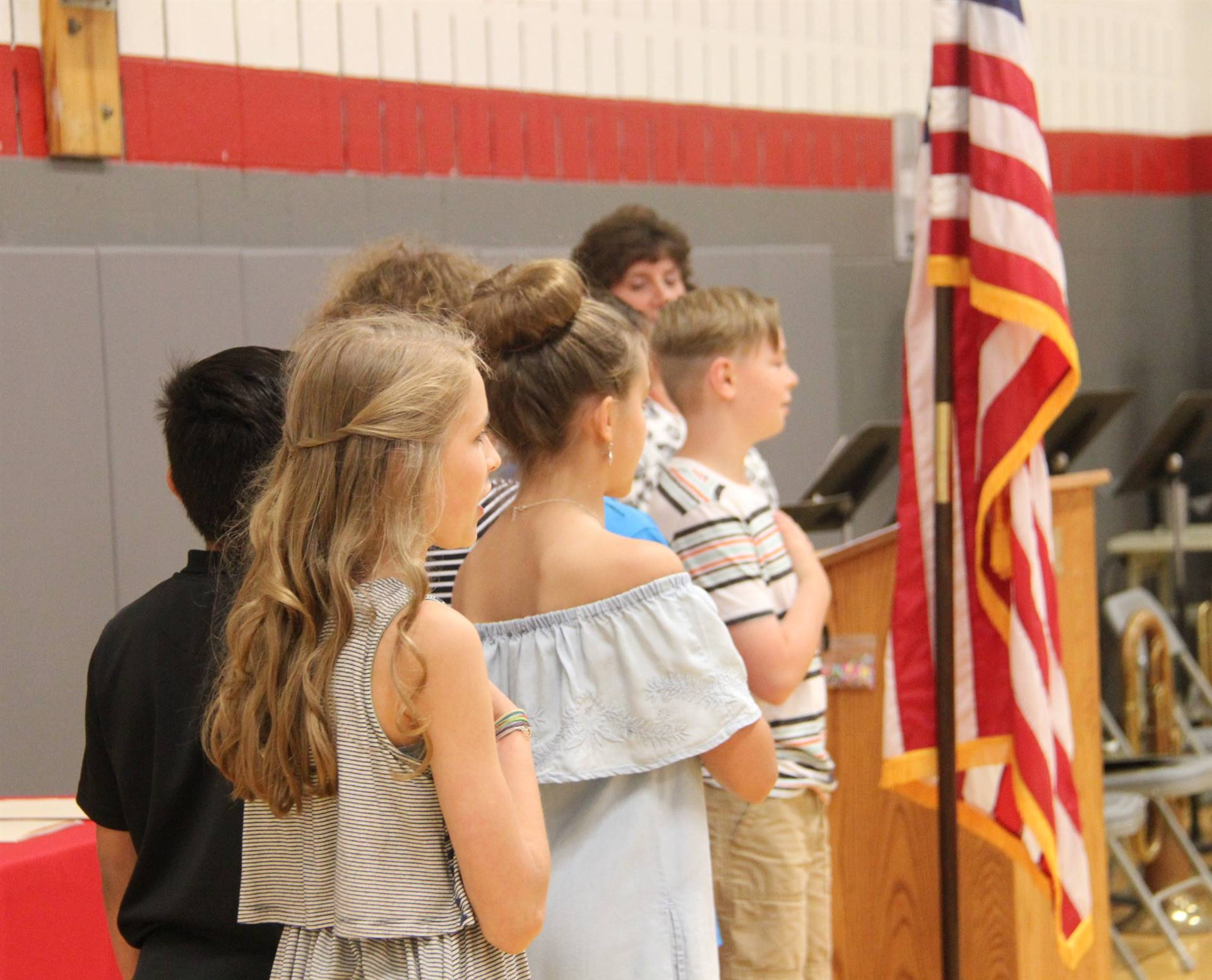 Fifth Grade Moving Up Ceremony 7