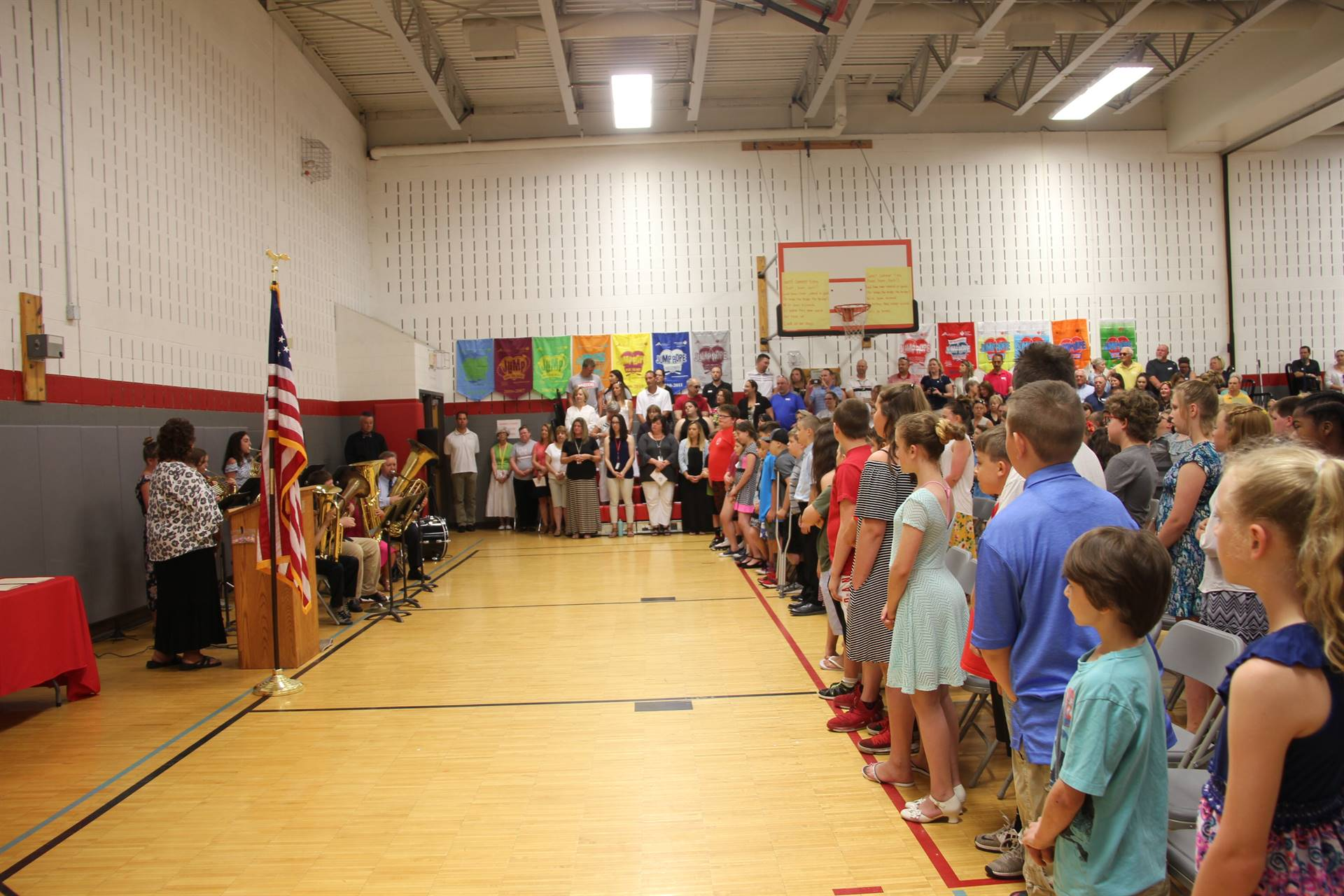 Fifth Grade Moving Up Ceremony 9