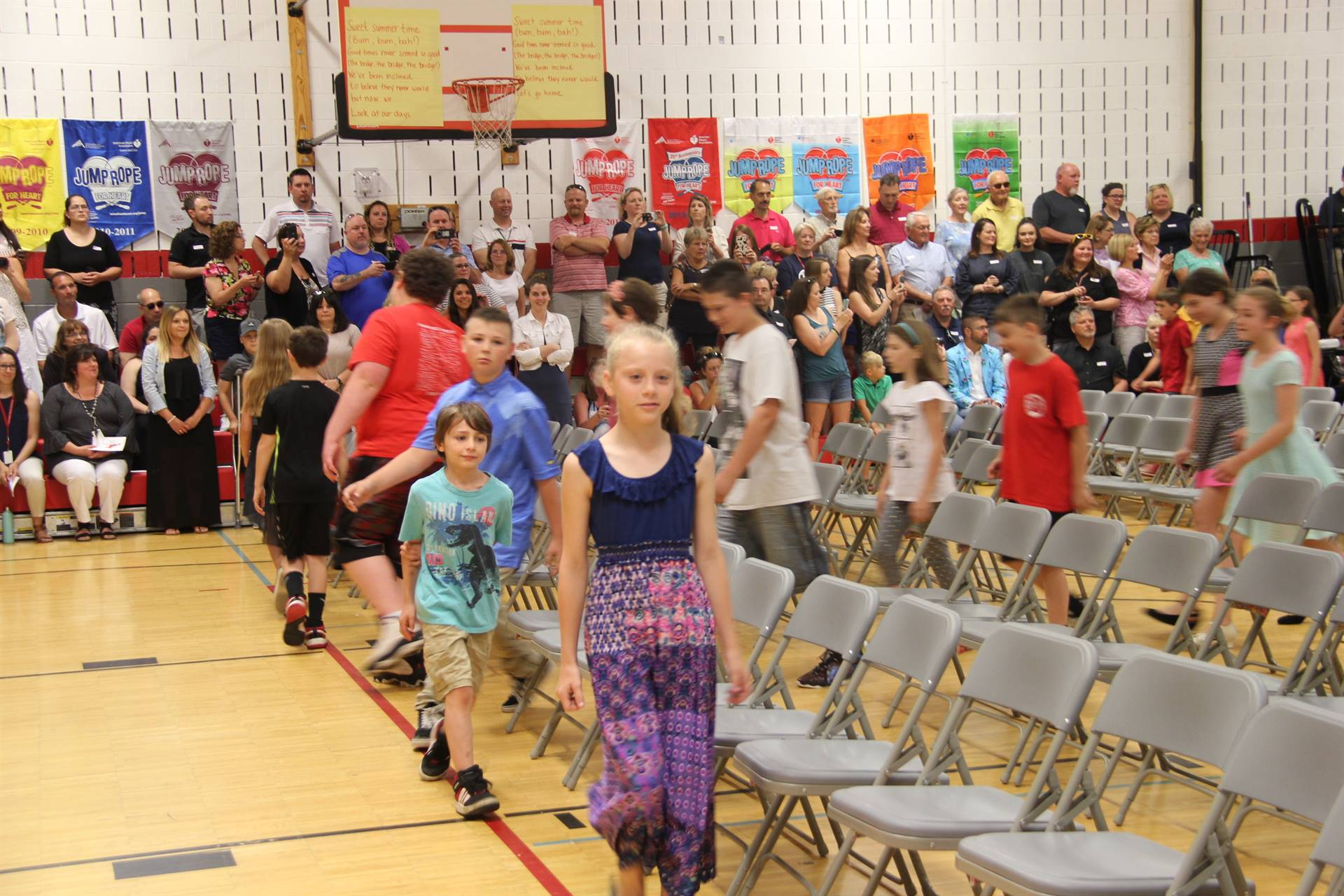 Fifth Grade Moving Up Ceremony 5