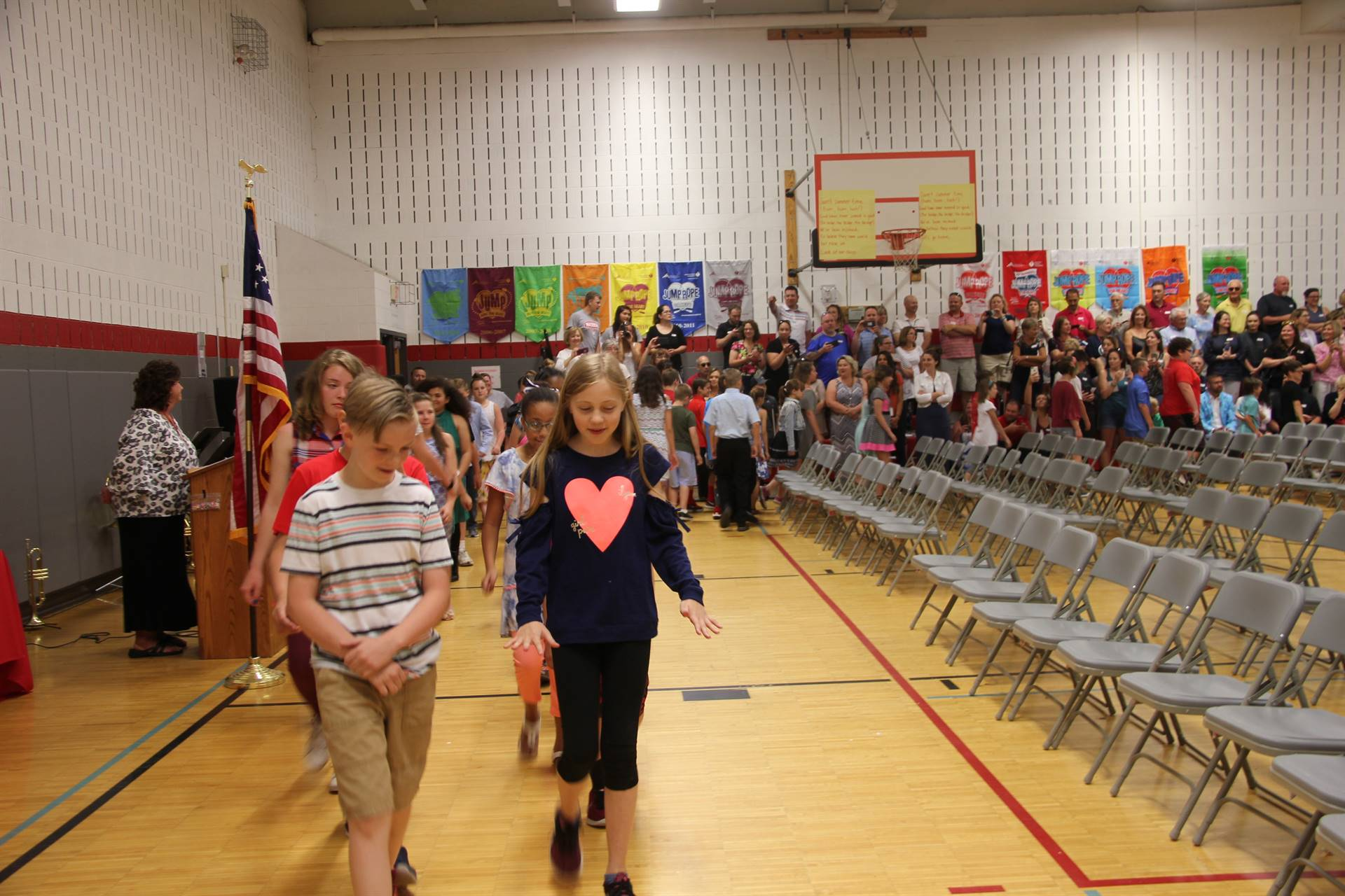 Fifth Grade Moving Up Ceremony 4