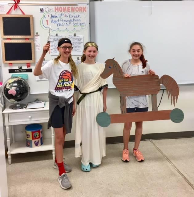 Greek Week Lesson 11