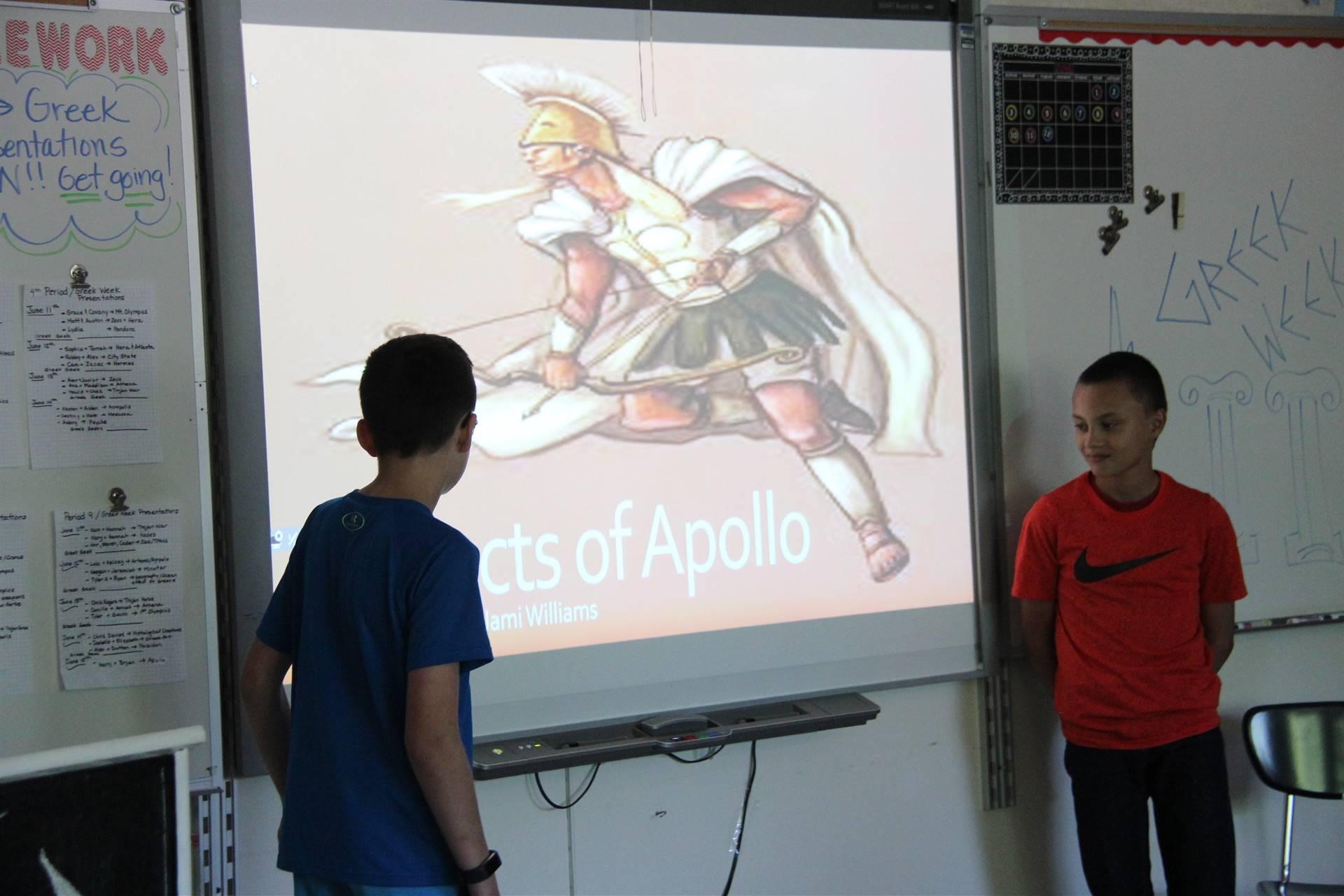 Greek Week Lesson 25