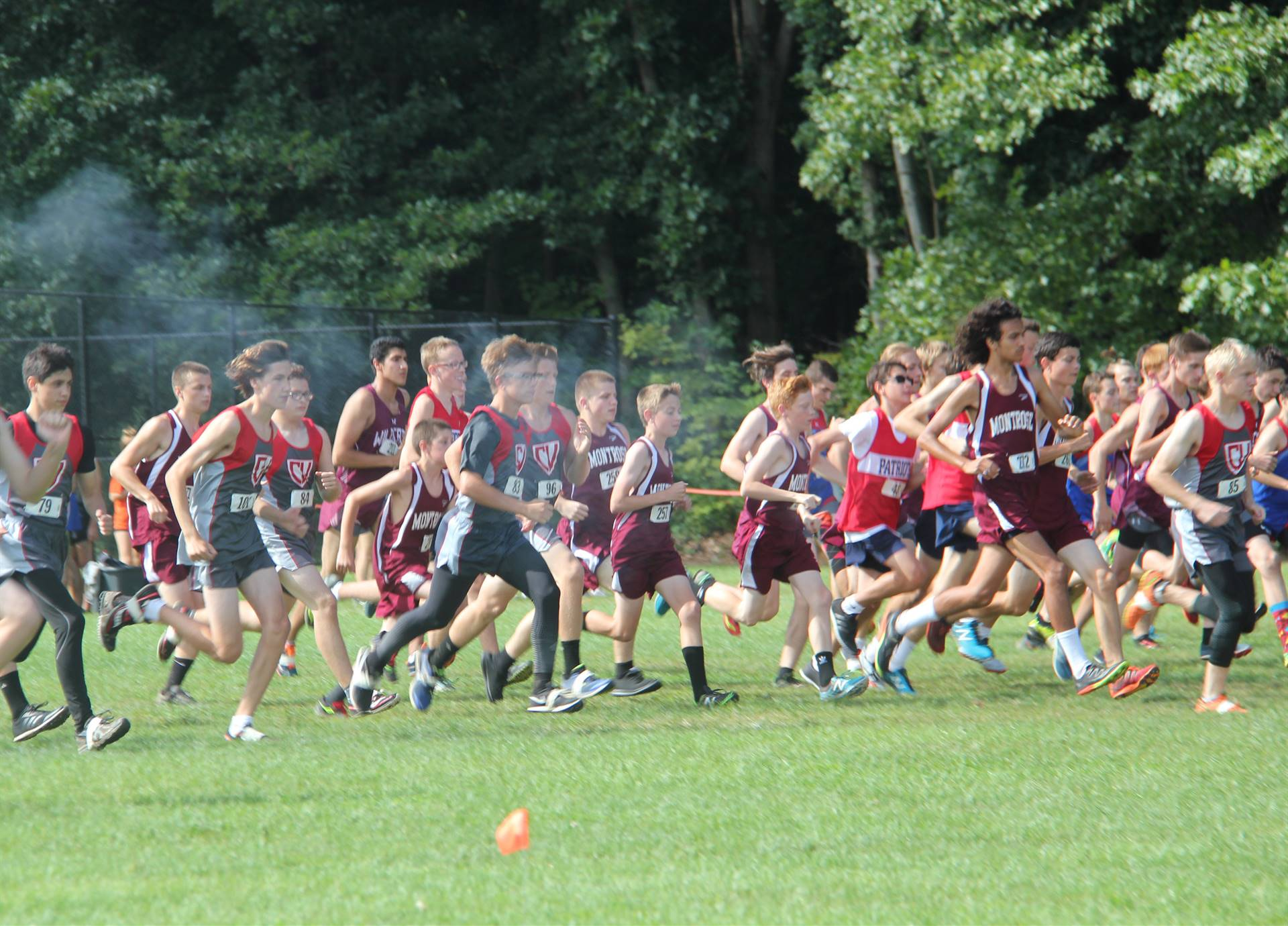 McDaniel Baxter Cross Country Invite 60