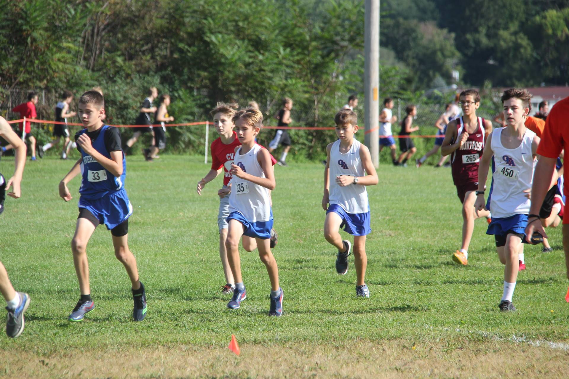 McDaniel Baxter Cross Country Invite 19