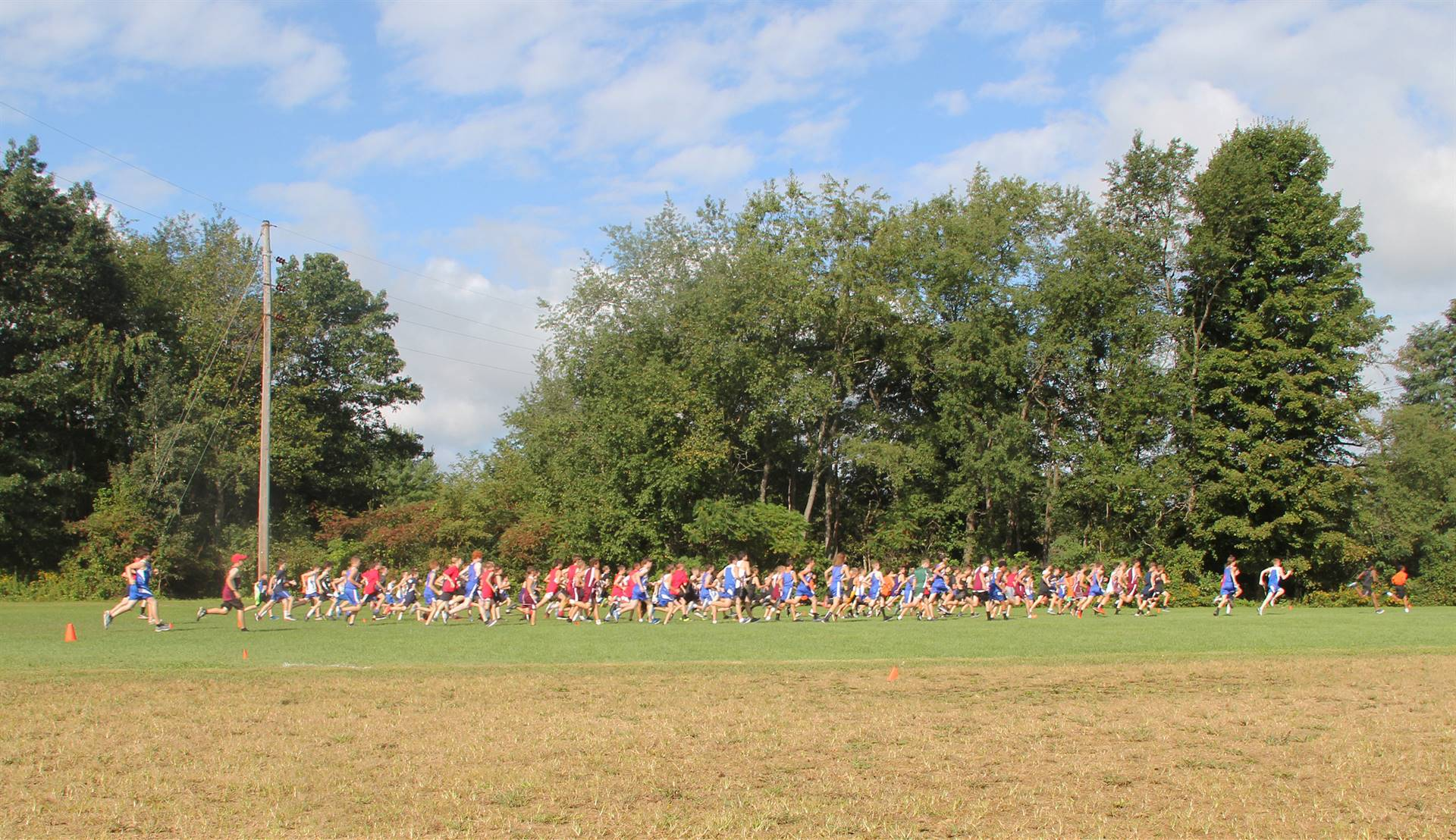 McDaniel Baxter Cross Country Invite 17