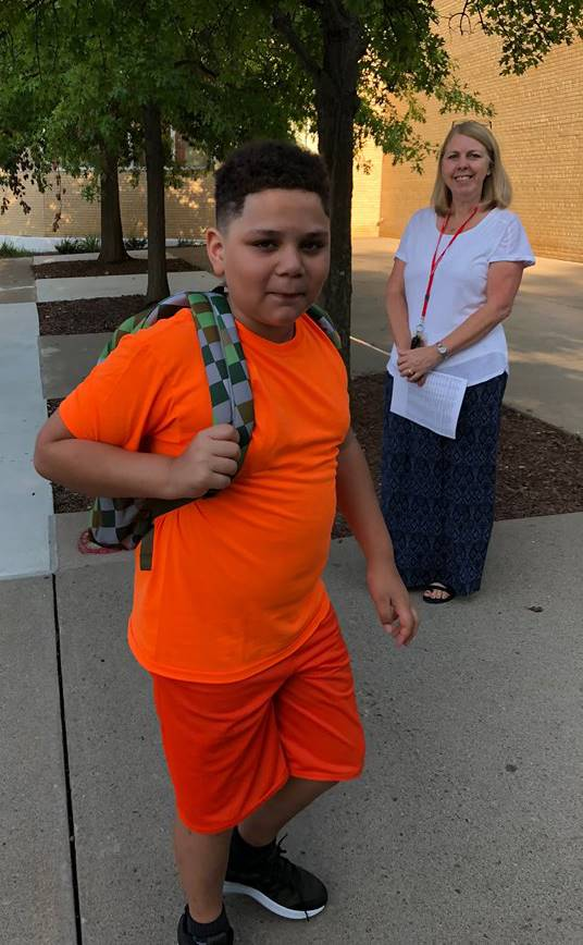 First Day of School 100