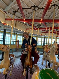 another french teacher on carousel