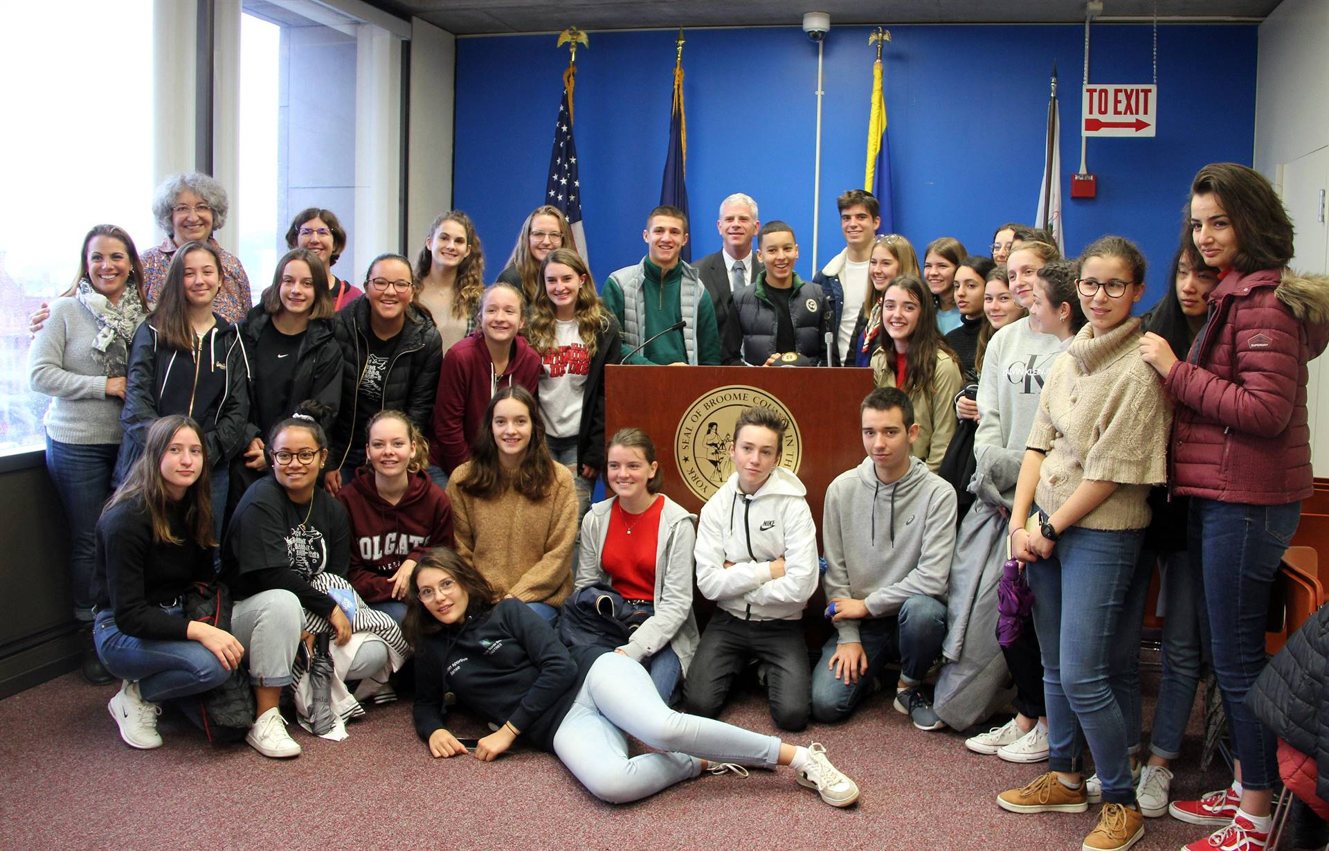 students with broome county executive