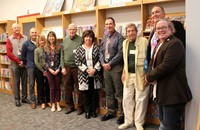 current and past honorees in library