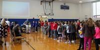 honorees at chenango bridge elementary event
