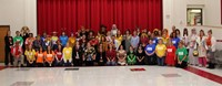 port dickinson elementary faculty and staff dressed in costumes