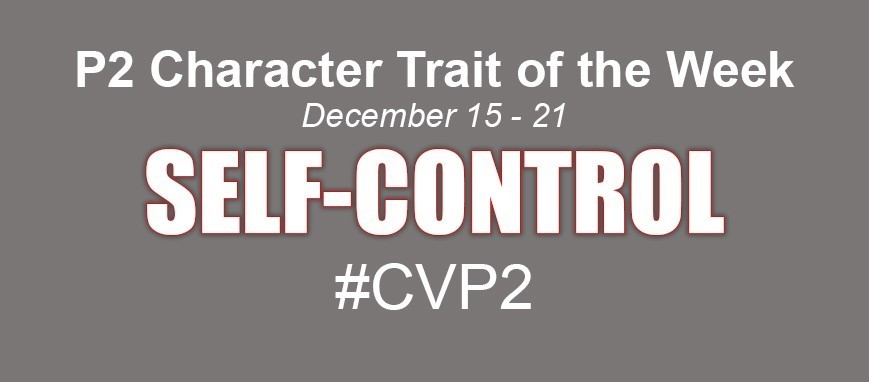p 2 character trait - self-control