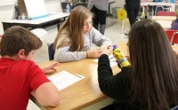 students taking part in nutrition activity