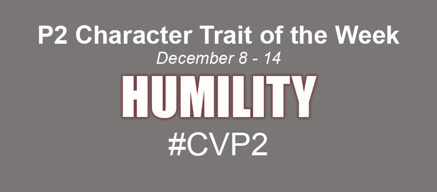 Character Trait of the Week - Humility