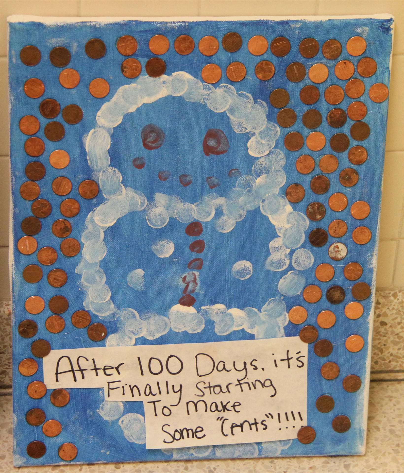 another 100 days of school poster