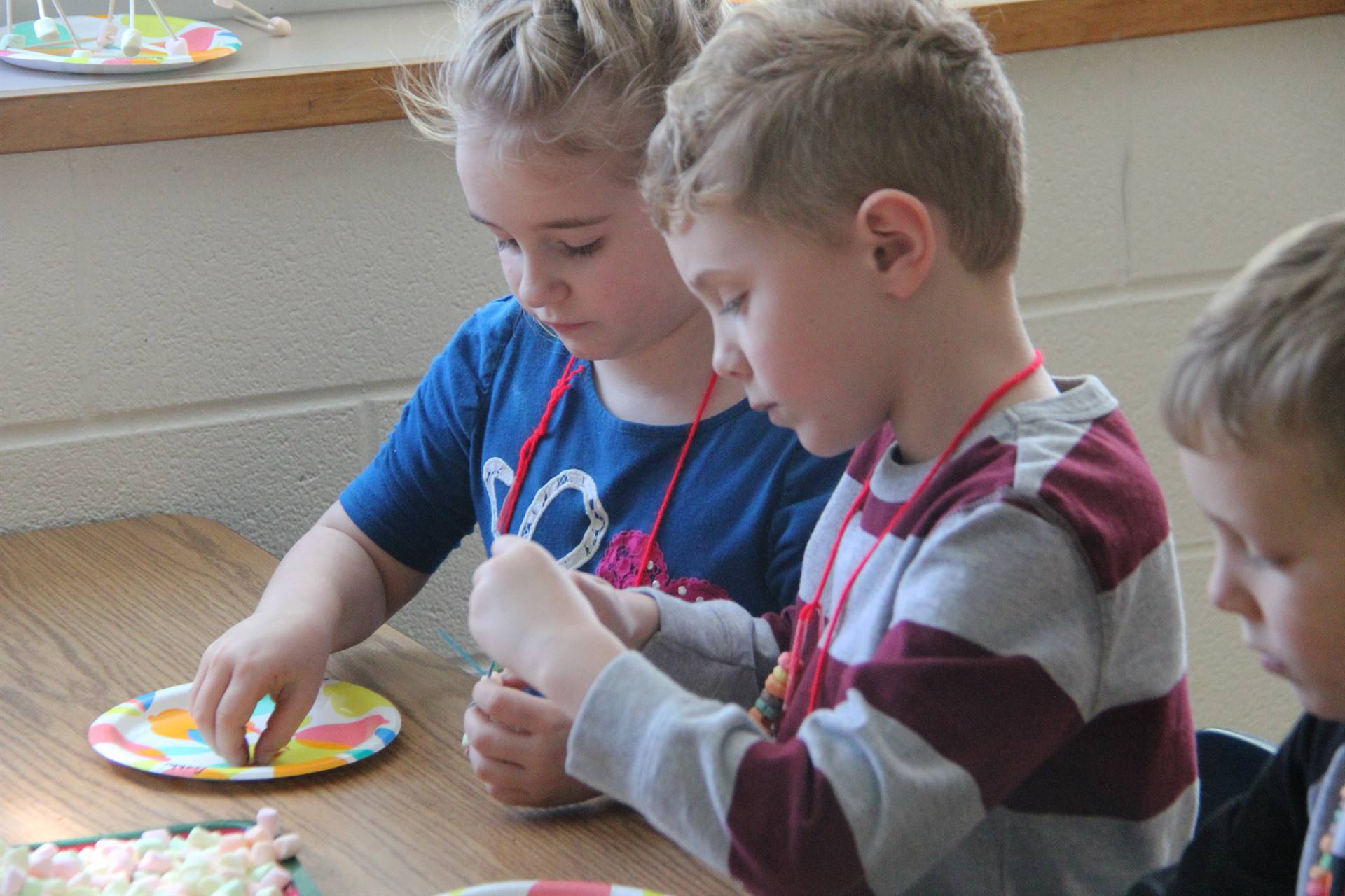 more students taking part in 100 days of school activity