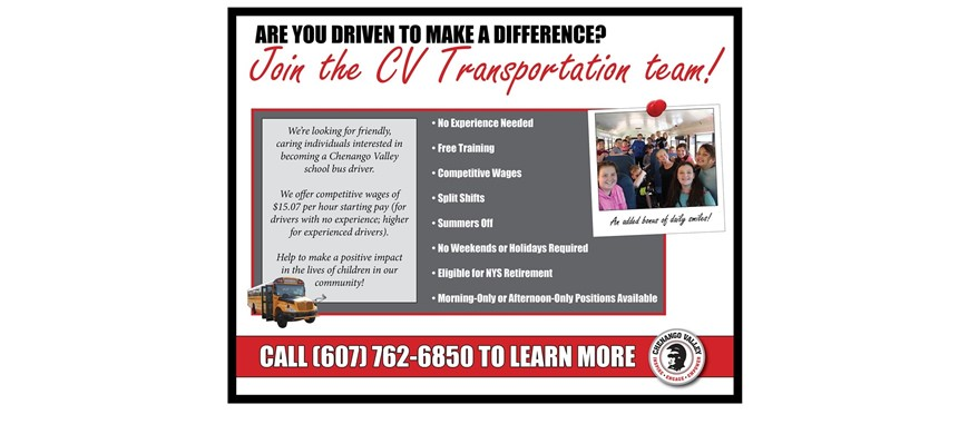 transportation flyer