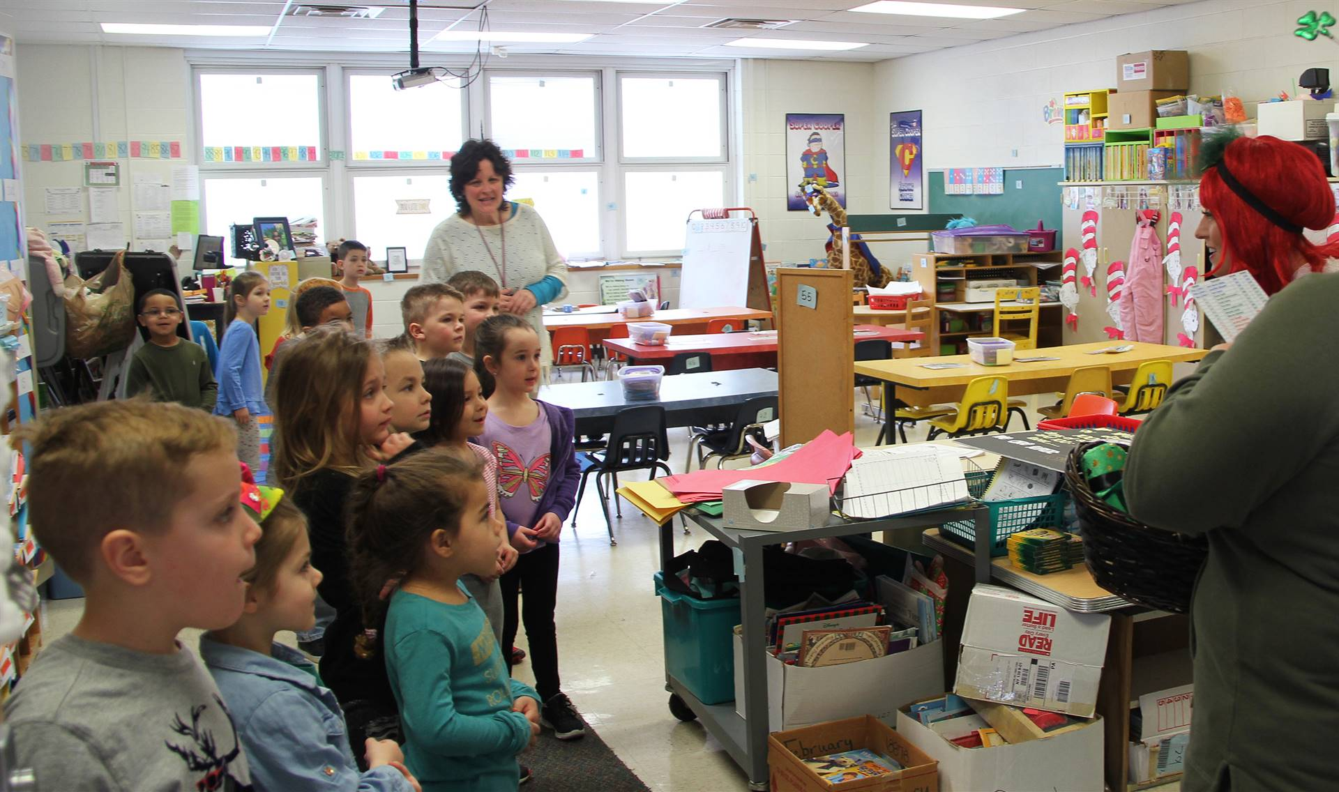 book donation at port dickinson elementary 11