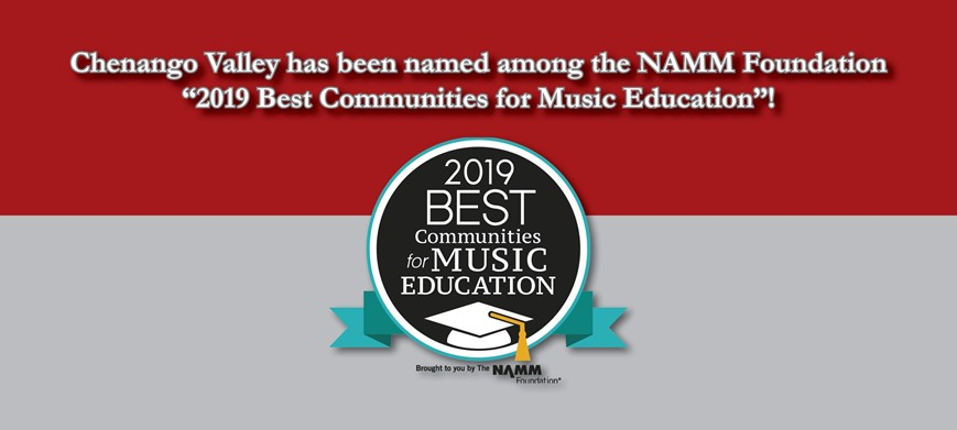 Chenango Valley 2019 Best Communities for Music Education
