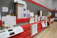 chemistry science projects on display