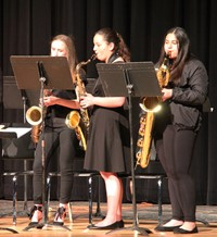 Students performing in Pops Concert 7