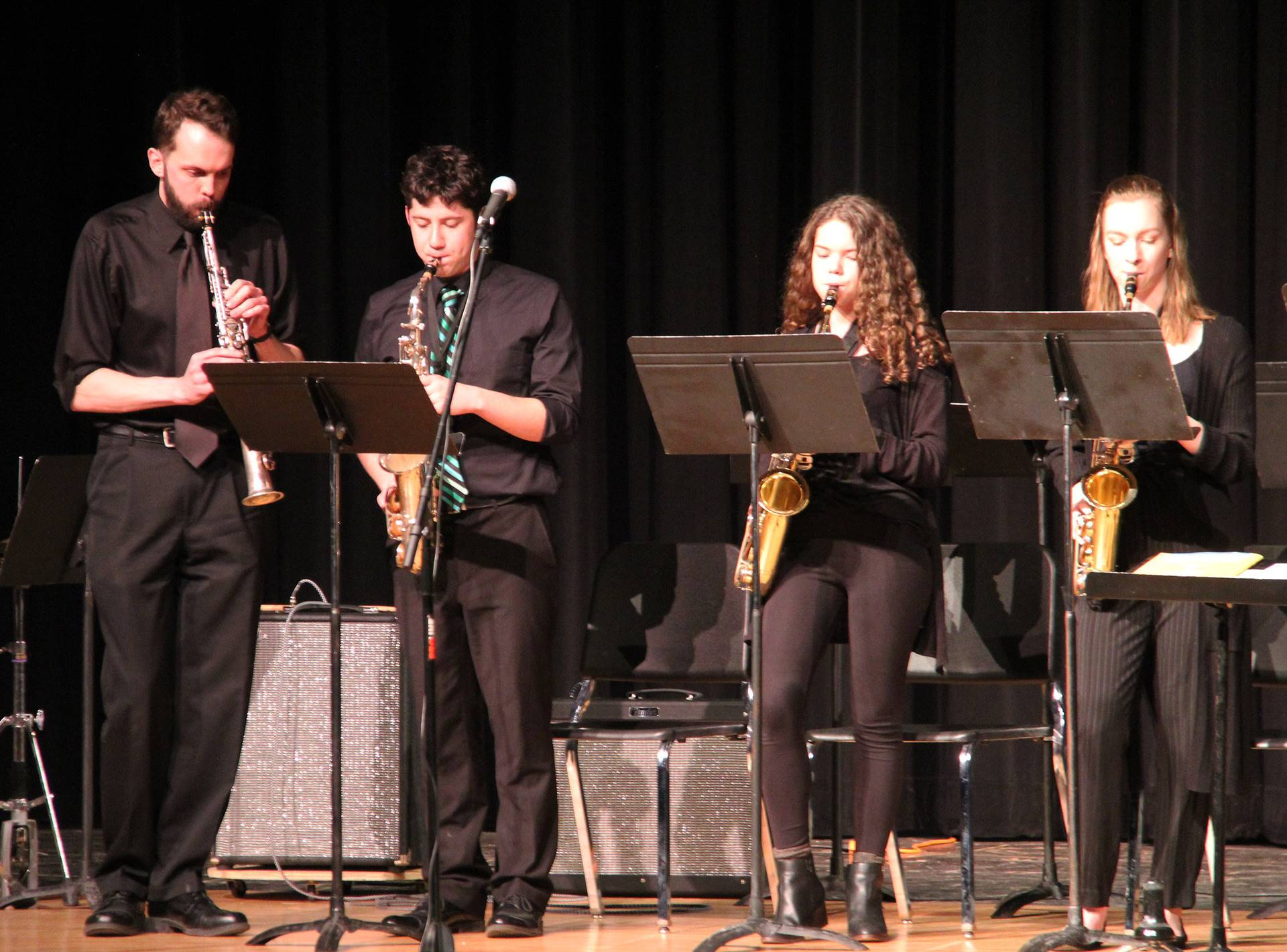 Students performing in Pops Concert 6