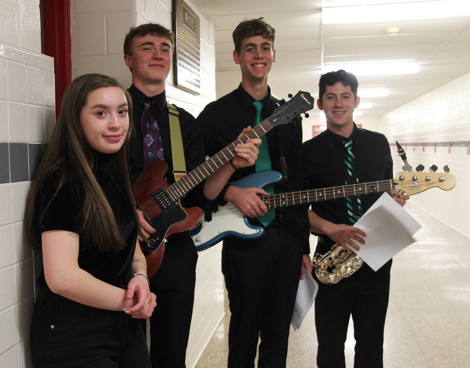 Students performing in Pops Concert 4