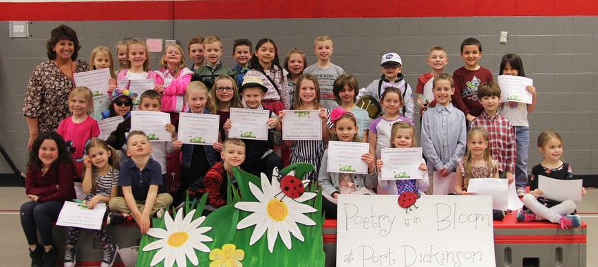 Port Dickinson Elementary Poetry Recitation Participants