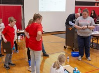 students taking part in robo rave competition 4