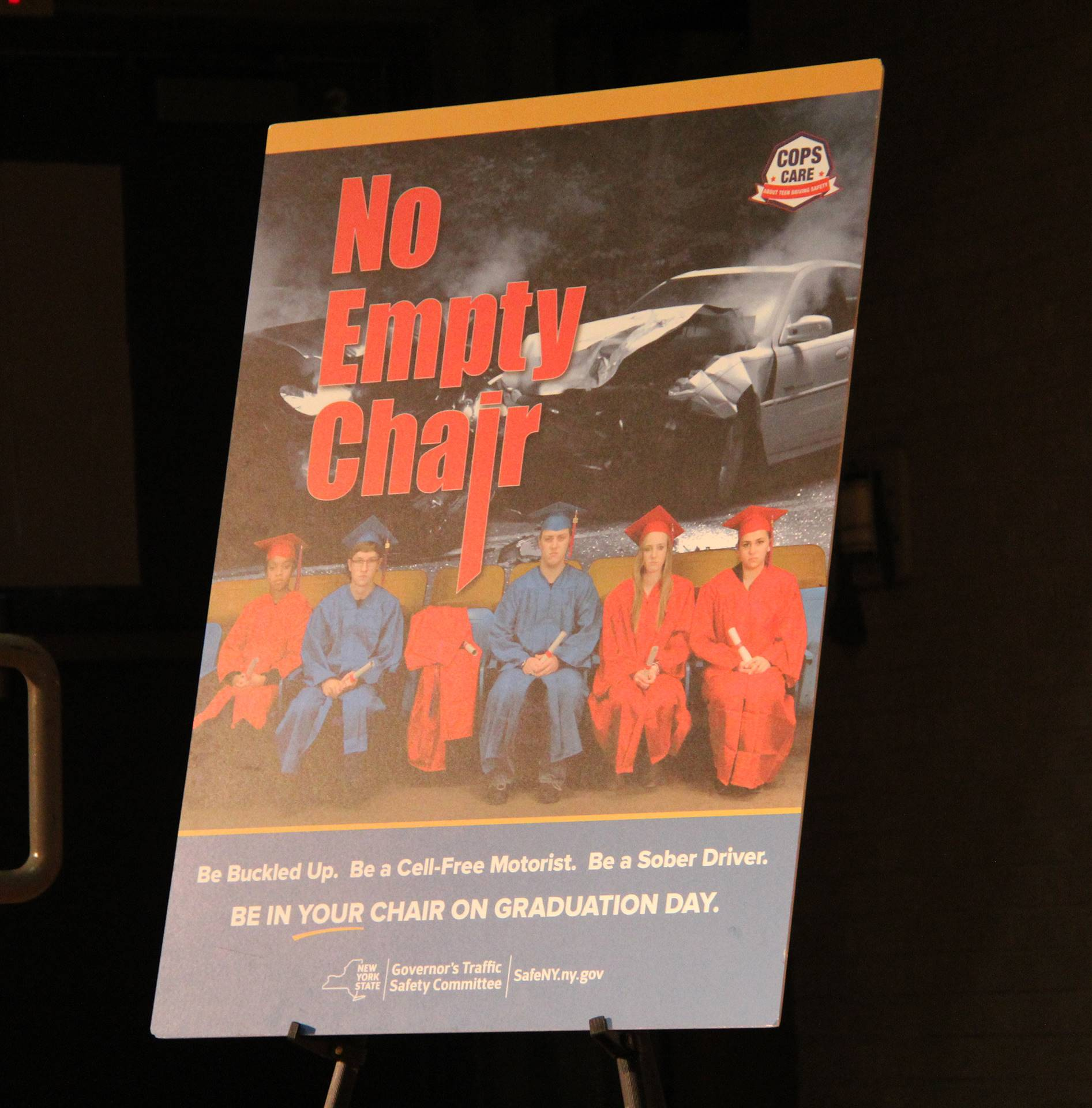 no empty chair poster