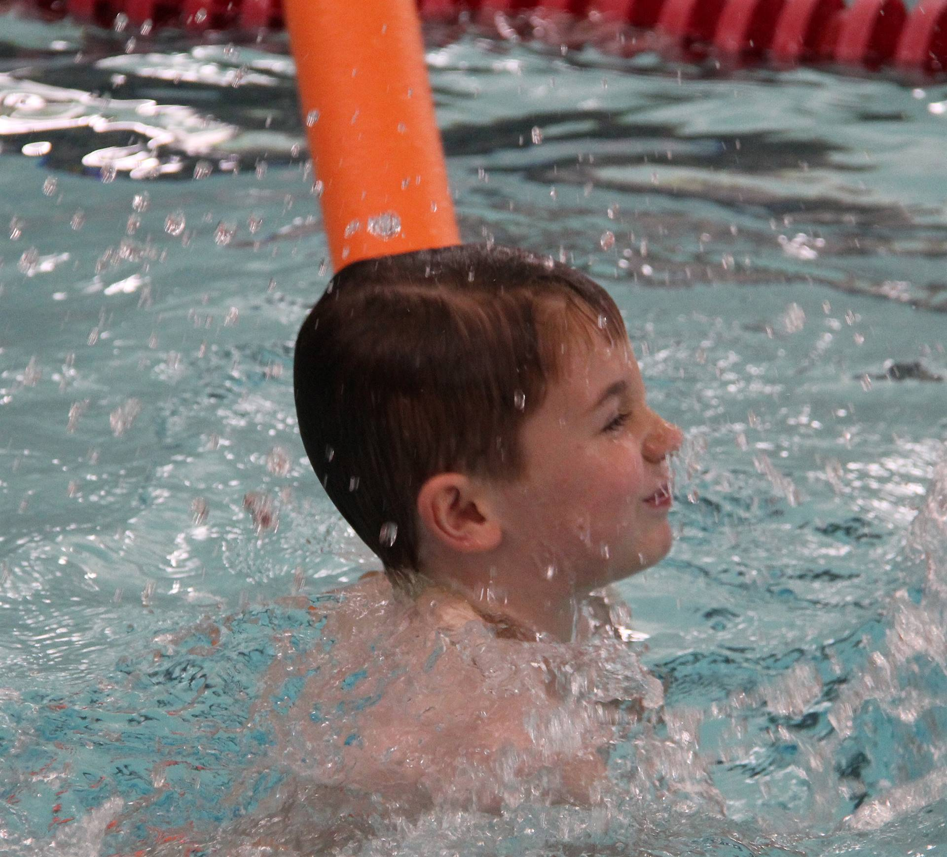 Port Dickinson Elementary students taking part in swim unit 12