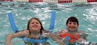 Port Dickinson Elementary students taking part in swim unit 11