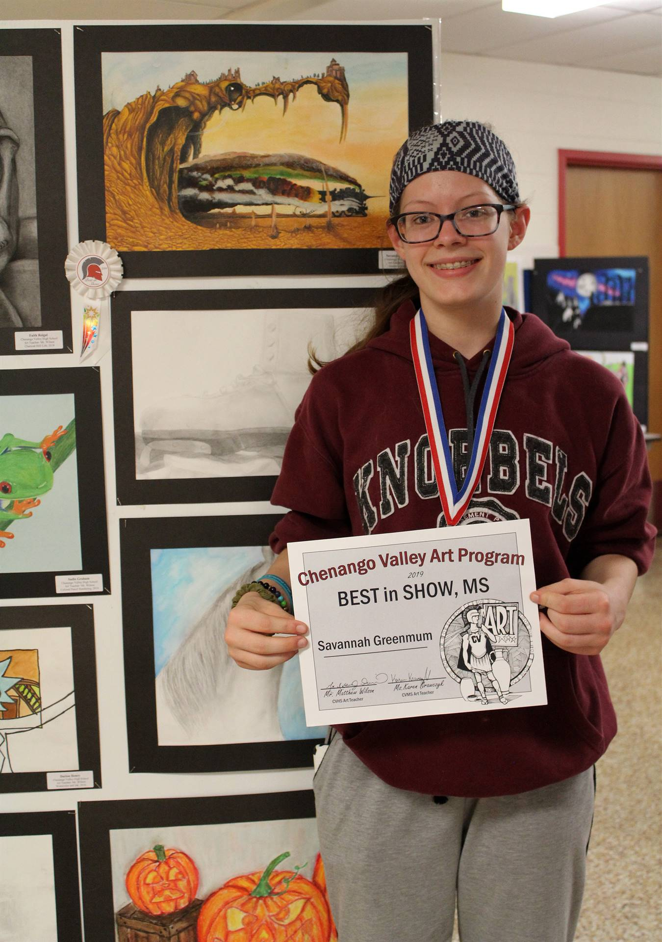2019 Middle School and High School Art Show 25