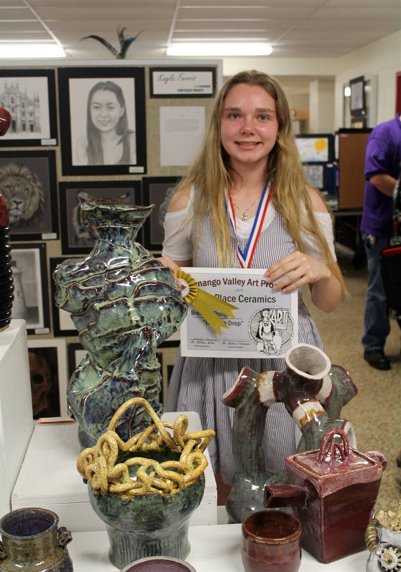 2019 Middle School and High School Art Show 22