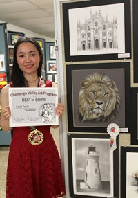 2019 Middle School and High School Art Show 24