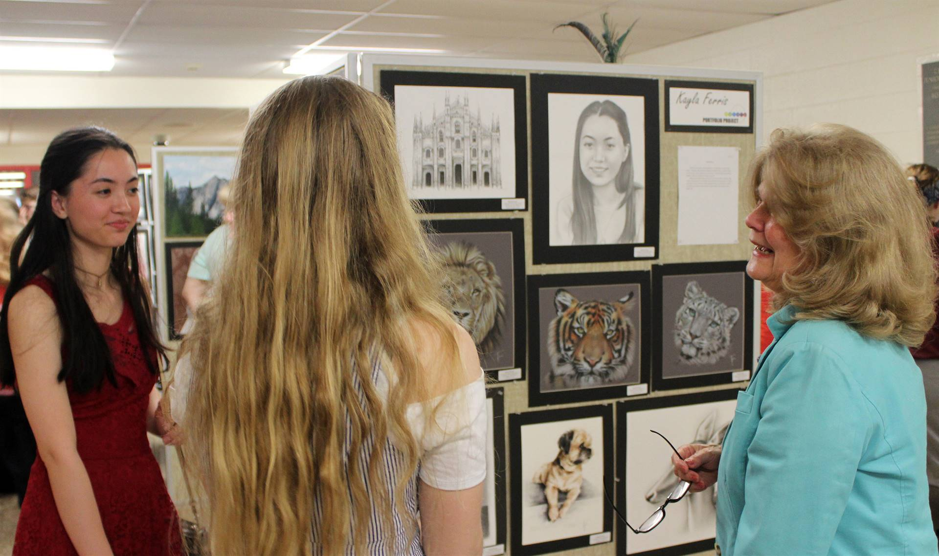 2019 Middle School and High School Art Show 4