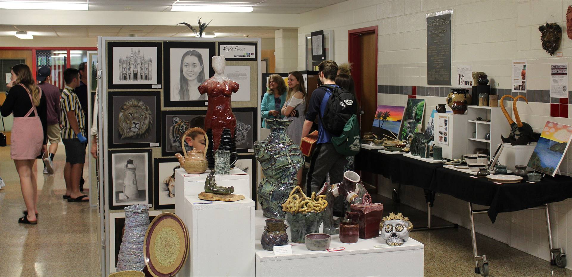 2019 Middle School and High School Art Show 2