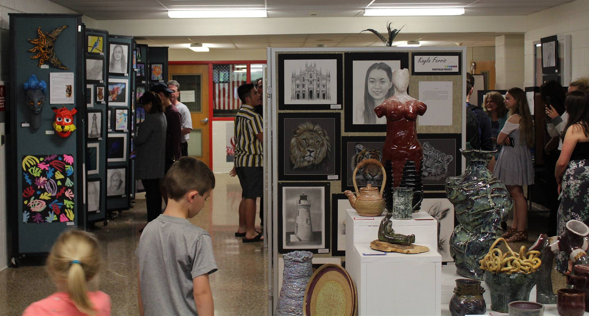 2019 Middle School and High School Art Show 1