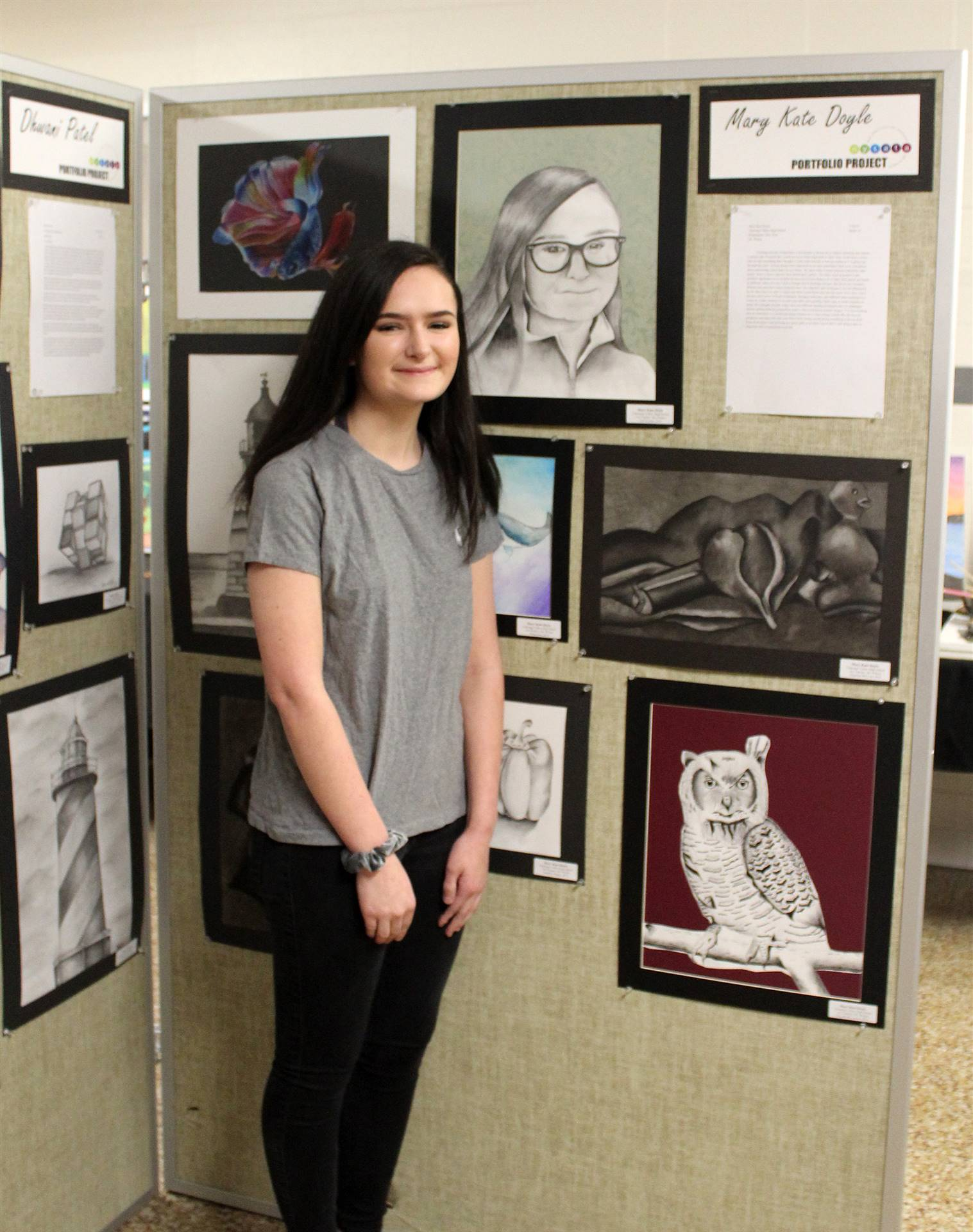 2019 Middle School and High School Art Show 6