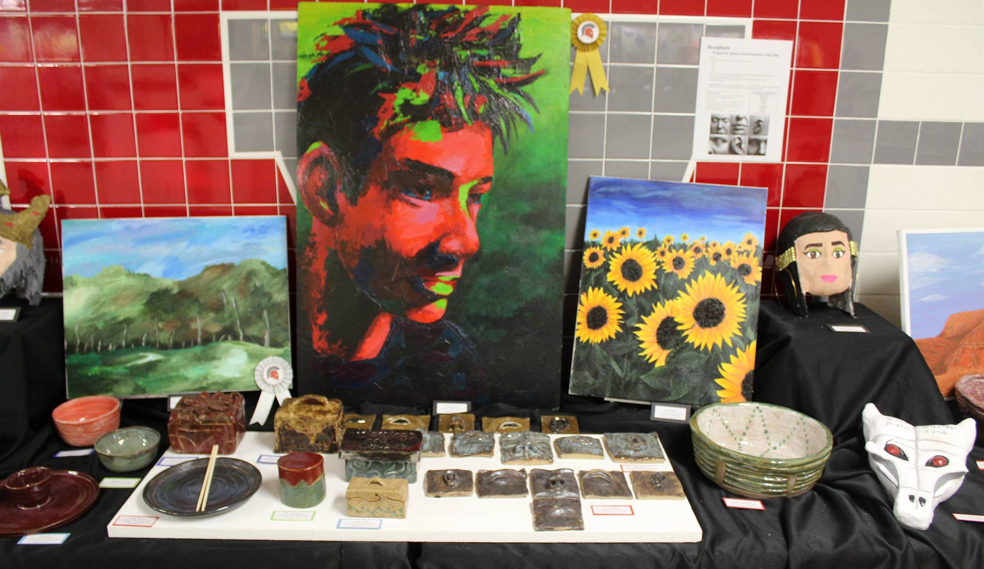 2019 Middle School and High School Art Show 50