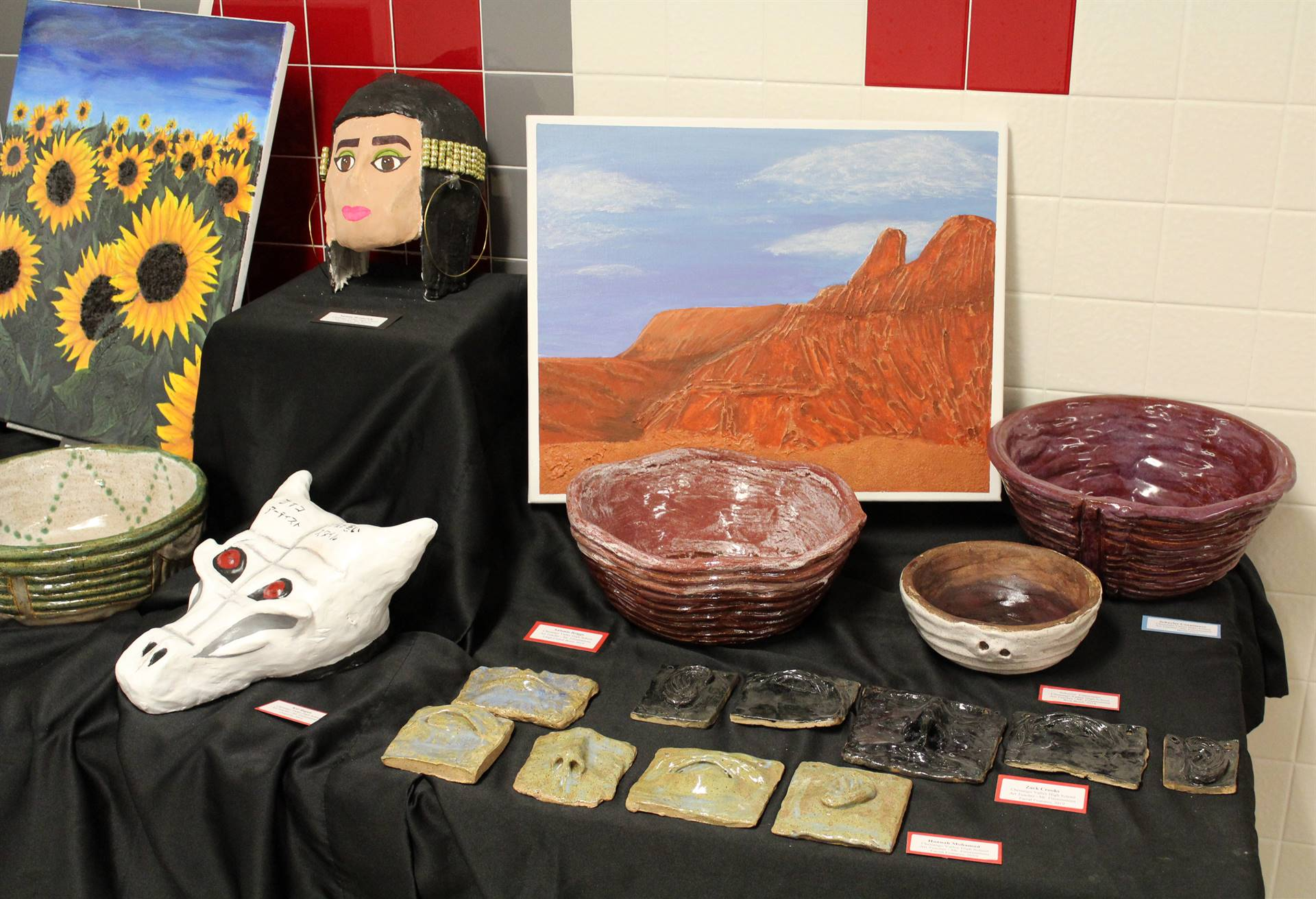 2019 Middle School and High School Art Show 49
