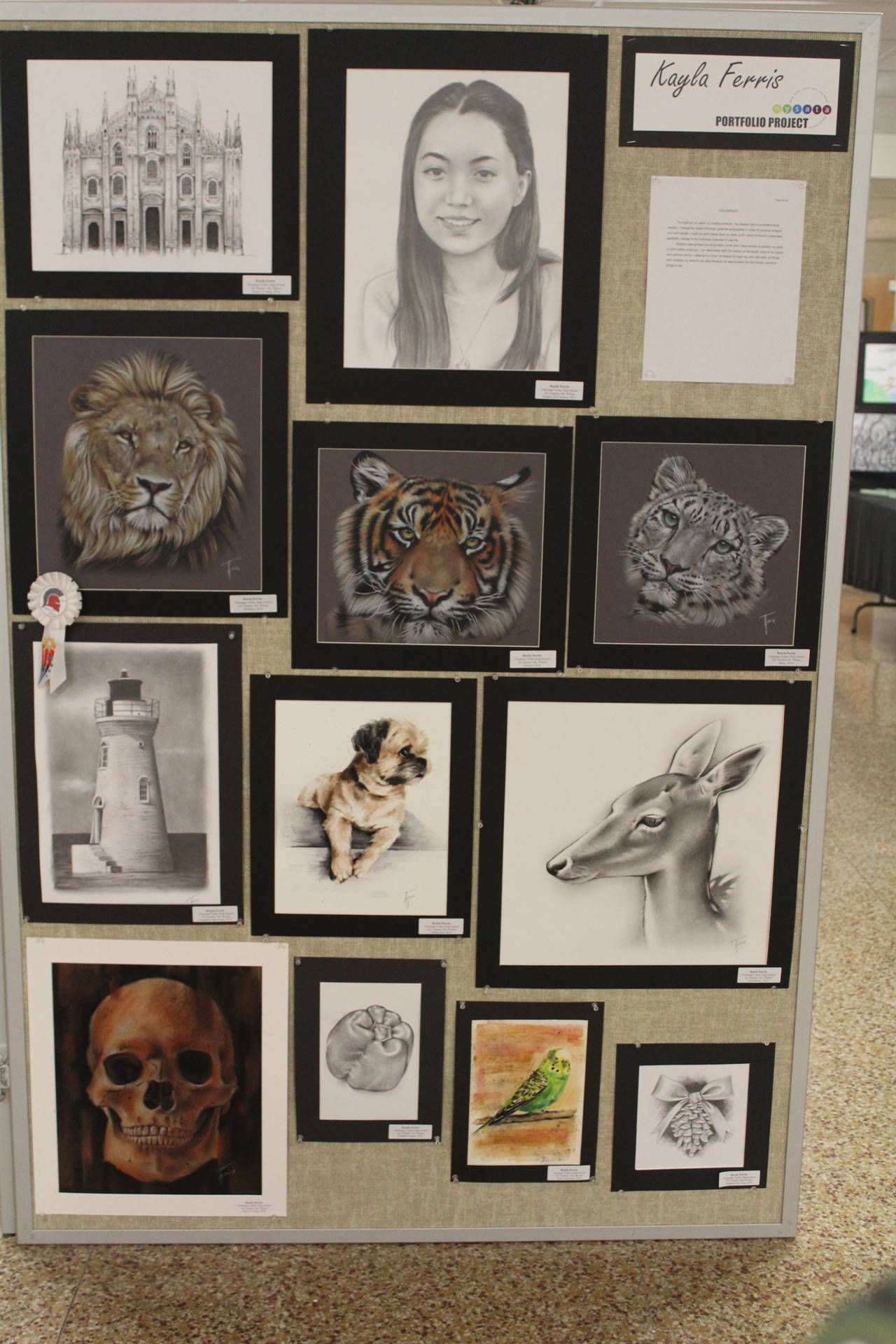 2019 Middle School and High School Art Show 48