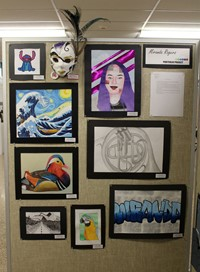 2019 Middle School and High School Art Show 46