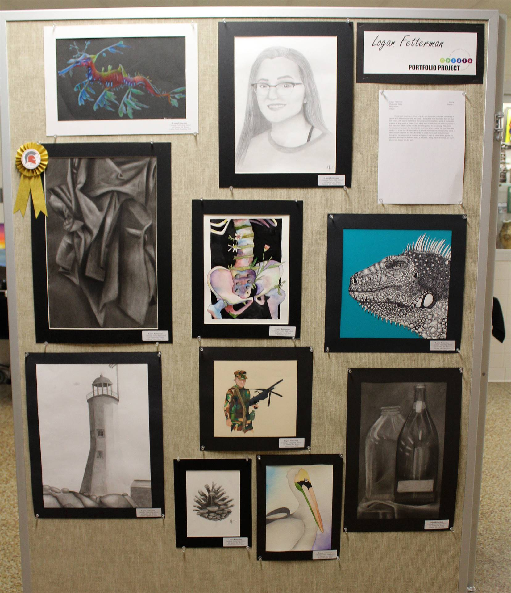 2019 Middle School and High School Art Show 45
