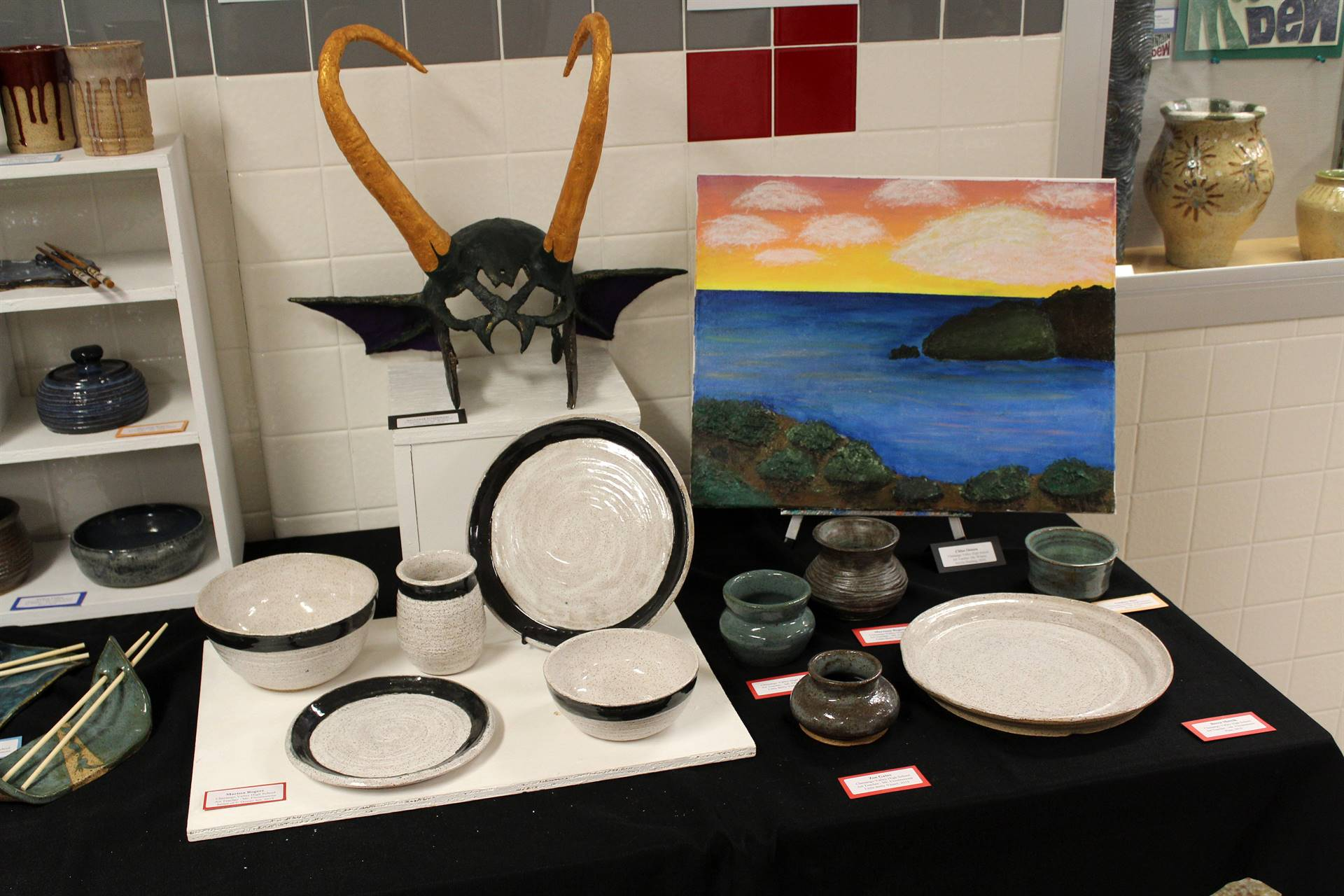 2019 Middle School and High School Art Show 60