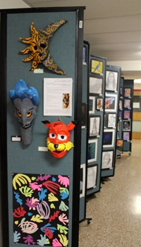2019 Middle School and High School Art Show 40