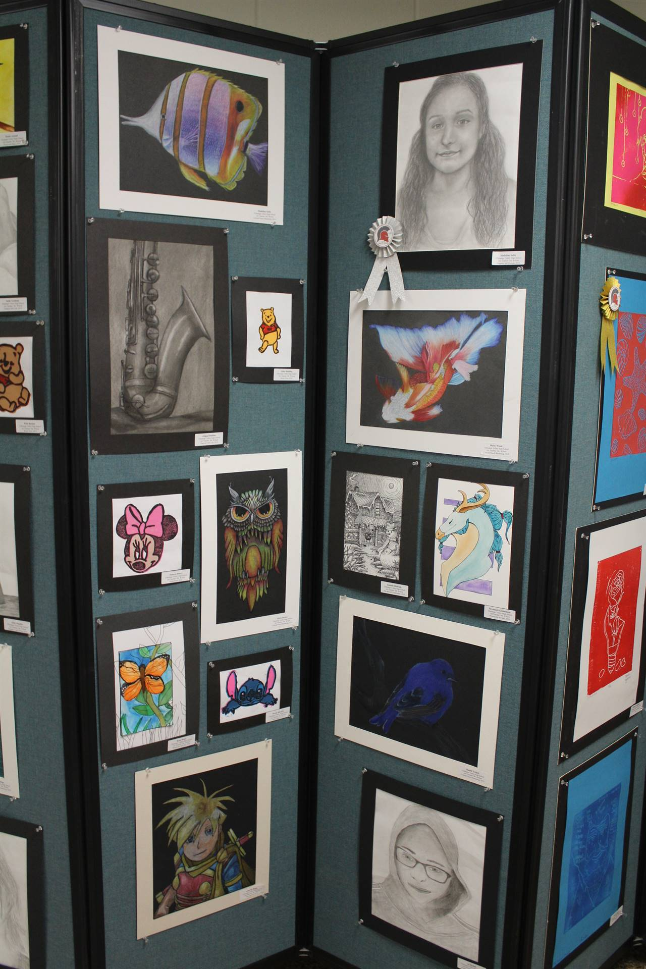 2019 Middle School and High School Art Show 37