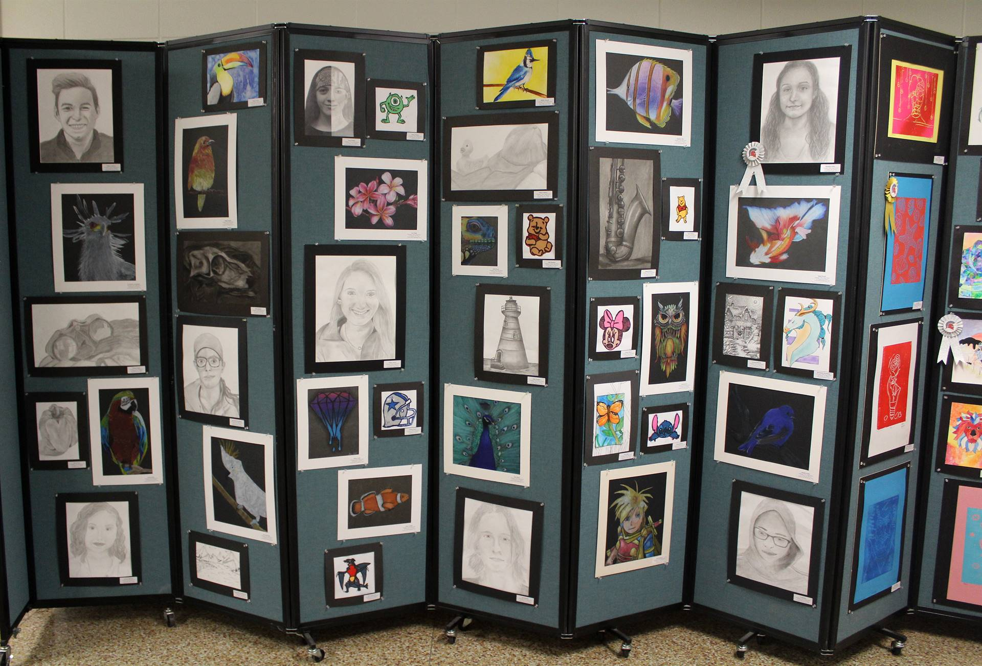 2019 Middle School and High School Art Show 36