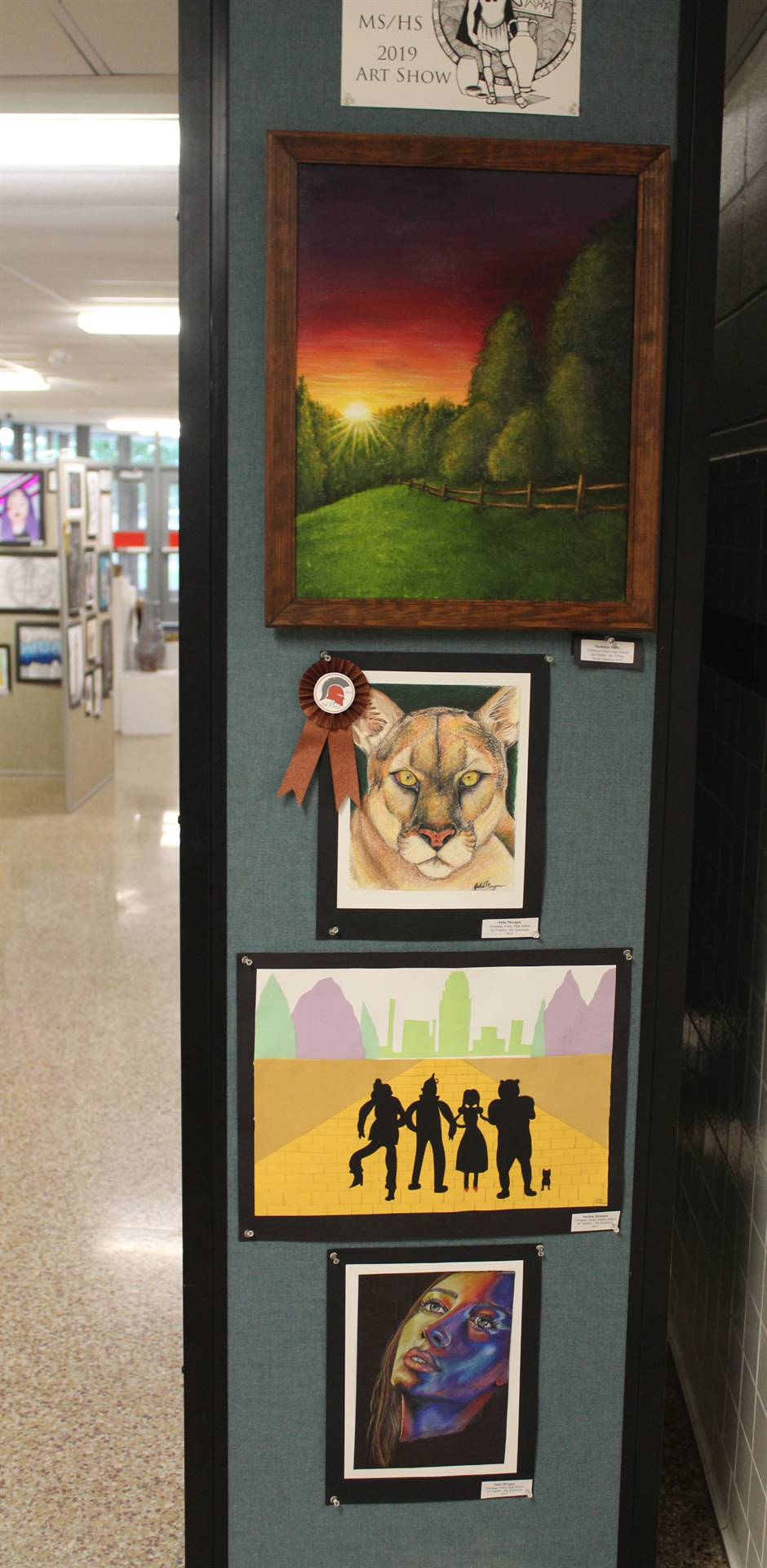 2019 Middle School and High School Art Show 34