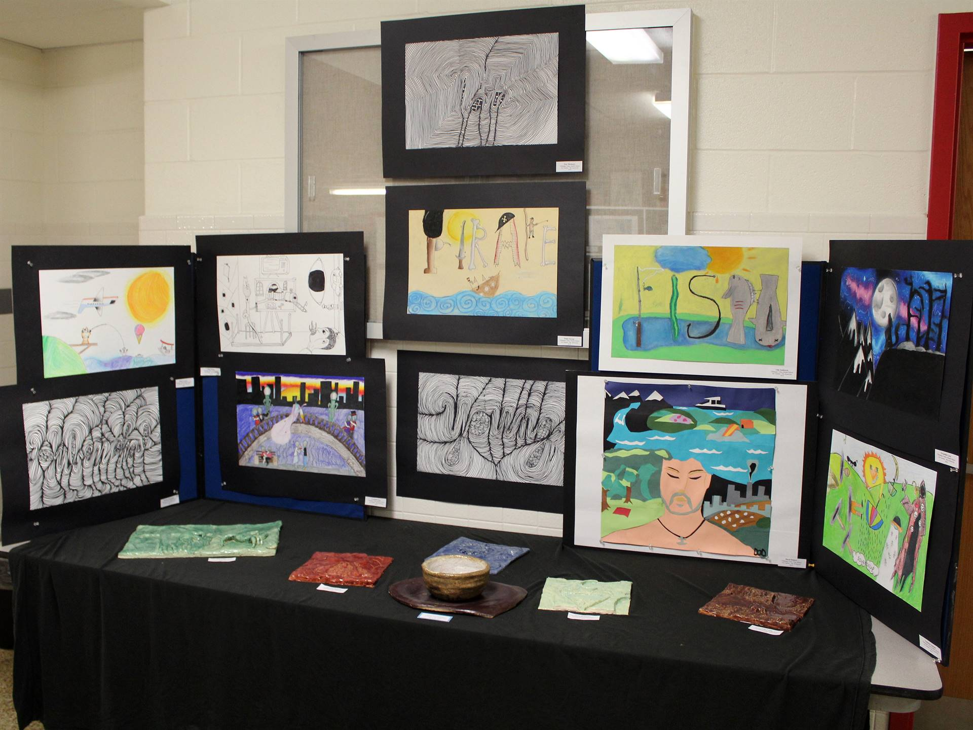 2019 Middle School and High School Art Show 33